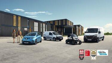 Range of Renault electric cars