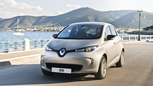 Renault ZOE Optimise your route