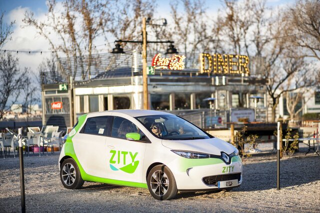 Renault - Zity: car sharing in Madrid