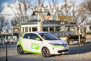 Renault - Zity: car sharing in Madrid