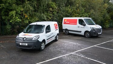 Renault All-electric vans help The Food Train