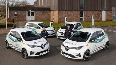 Renault All-electric vans