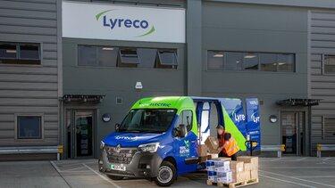 Lyreco takes delivery of Master E-Tech