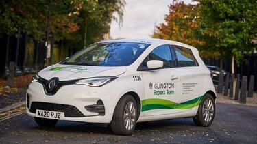 Renault Zoe helps Islington council