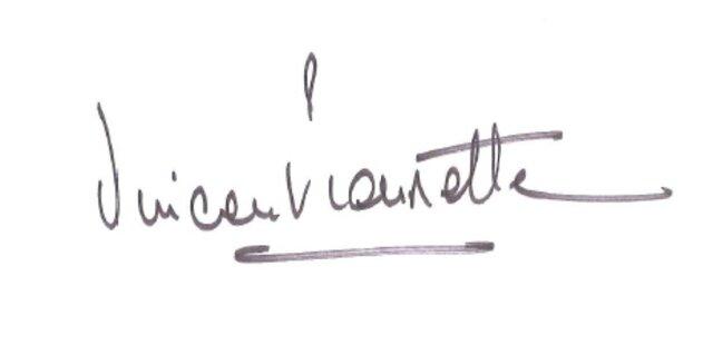 Renault CEO Signature