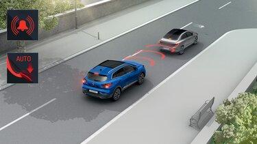 Renault Emergency Brake Assist (EBA)