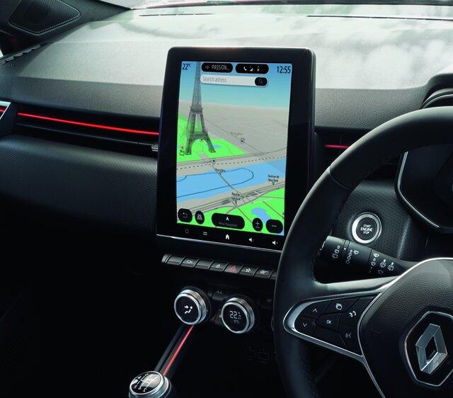 CLIO interior