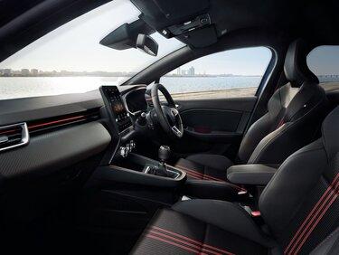 CLIO R.S. interior Line
