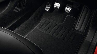 CAPTUR Premium textile floor mats