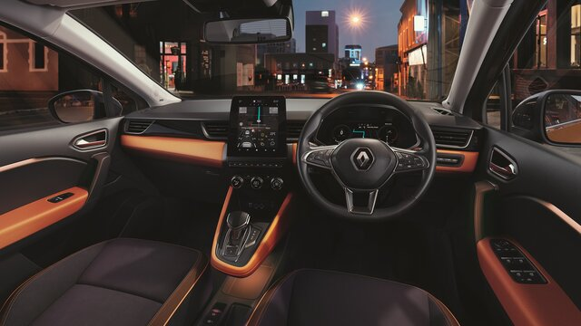 All-new CAPTUR interior MULTI-SENSE lighting