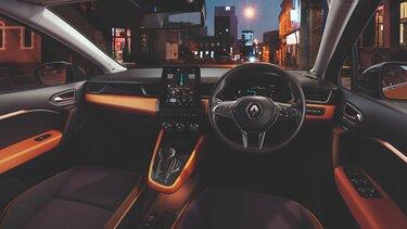 All-new CAPTUR interior: steering wheel, dashboard