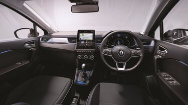 CAPTUR interior customisation