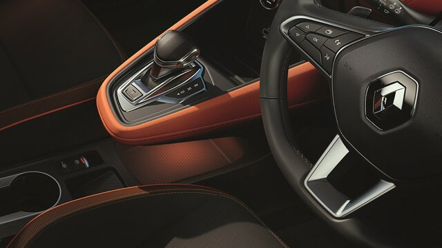 All-new CAPTUR gear lever