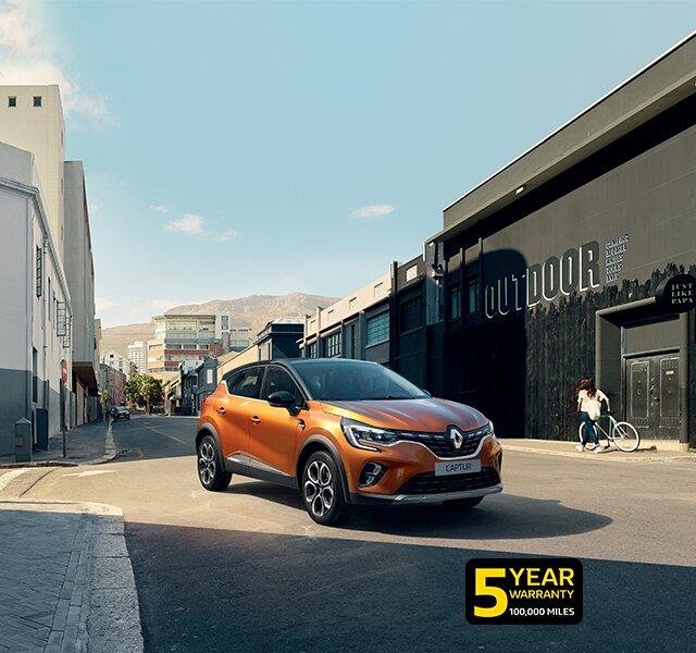 Renault CAPTUR compact urban SUV