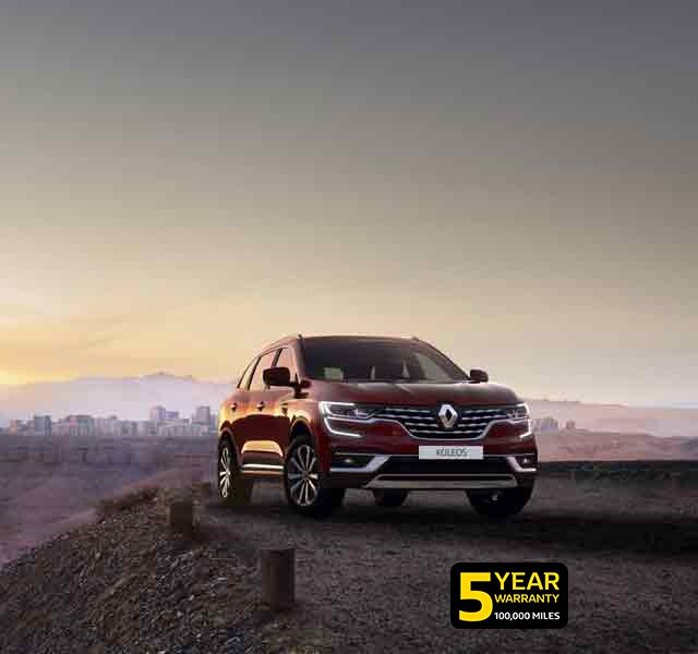 All-new Renault KOLEOS 4x4 family SUV