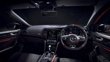 Interior - MEGANE R.S. dashboard