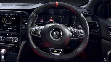 Steering wheel paddle - MEGANE R.S. interior