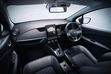 Renault ZOE navigation screen