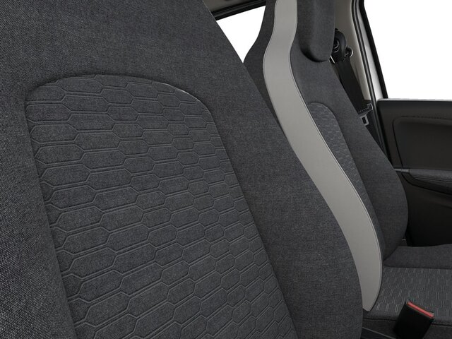 Renault ZOE interior front and rear seats