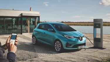 Z.E. electric car savings