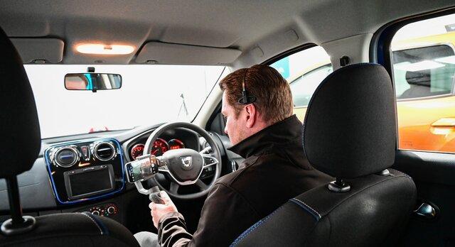 Dacia virtual showroom interior