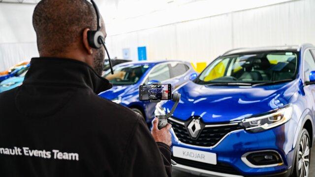 Renault Virtual Showroom Kadjar