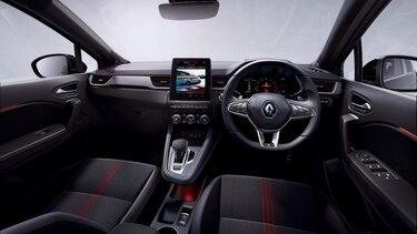 Renault Captur interior smart cockpit, dashboard