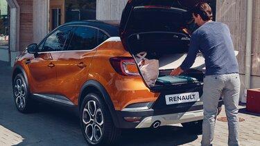 Renault Captur SUV Boot
