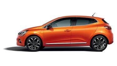 CLIO orange exterior profile