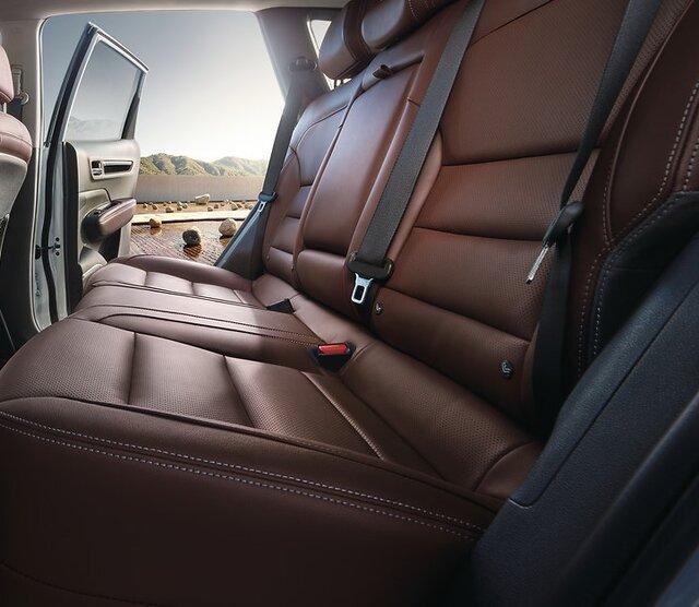 Renault KOLEOS interior rear bench seat