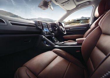 Renault KOLEOS interior finish