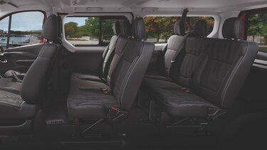 trafic passenger - interior space - renault