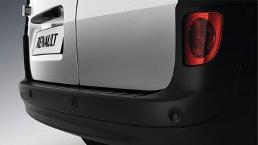 Camera and rear parking sensor