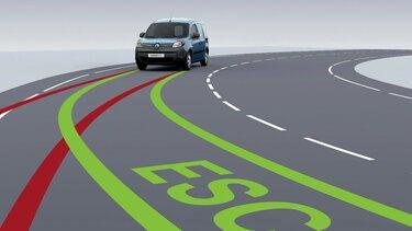 Renault KANGOO Z.E. Electronic Stability Control (ESC)