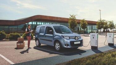 Renault KANGOO Z.E. charging