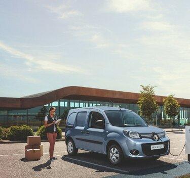 Renault KANGOO Z.E. front