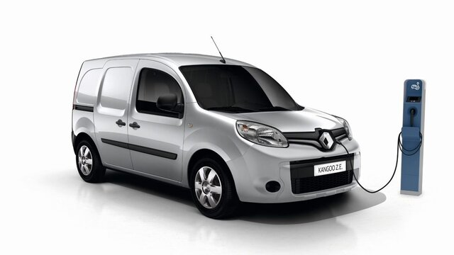 Renault KANGOO Z.E. Driving range and charging