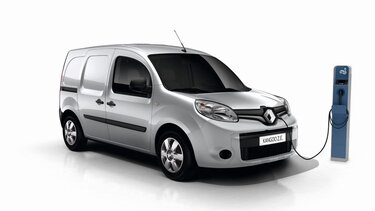 Renault KANGOO Z.E. Driving range and charging