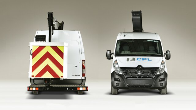 Renault CONVERSIONS Cherry picker