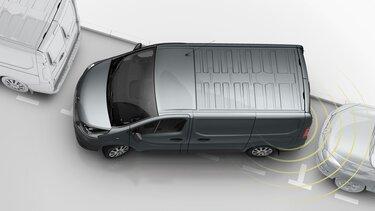 All-New TRAFIC - Rear parking sensors
