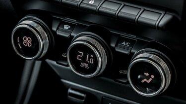 Renault New ZOE Van Climate control