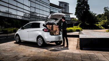 Renault New ZOE Van Fittings and accessories