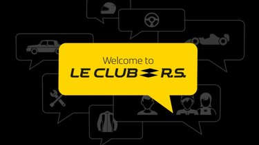 Renault Sport launches new 'Le Club R.S.' on-line community