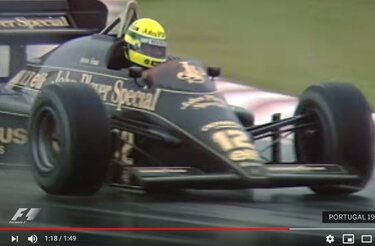 F1 retro: Ayrton Senna's first win with Renault