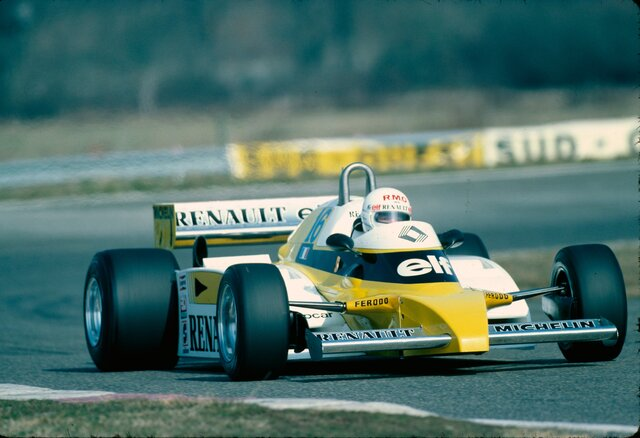 40 years ago: it's 2 for Arnoux!