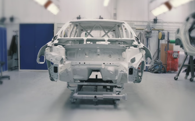 Latest video shows build of New CLIO competition car