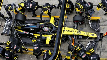 Renault F1 Race report