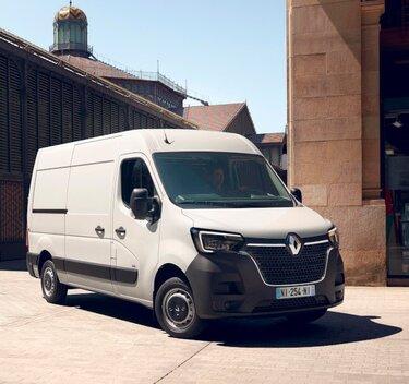 100%-ig elektromos Renault Master Z.E.