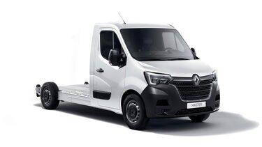 Átalakítás – Emelőkosaras autó – Renault