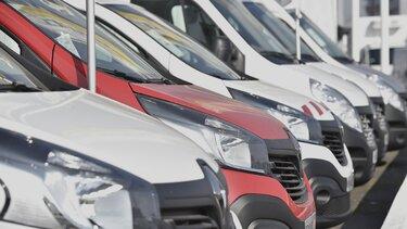 Renault kiállított haszongépjárművek